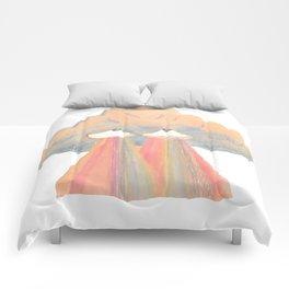 Cloud pink Comforters