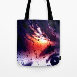 Rain...not a nice day. Tote Bag