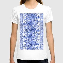 Sapphire Blue Lace T-shirt