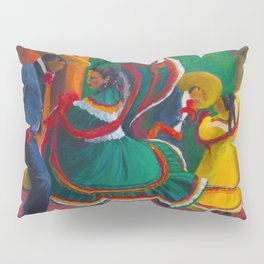 Baile Folklorico Pillow Sham
