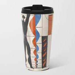 The Modulor Sketch by Le Corbusier Travel Mug