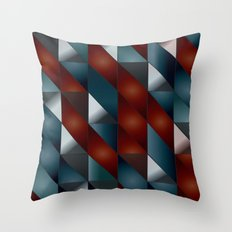 Pattern #5 Tiles Throw Pillow