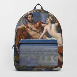 Mars Being Disarmed by Venus and the Three Graces, Fine Art Print Backpack