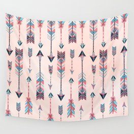 Patterned Arrows Wall Tapestry