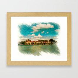 Konstanz Cityscape 2 Framed Art Print