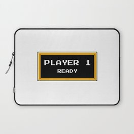 Player 1 ready Laptop Sleeve