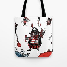 Everyone loves a pirate. Inspired by Captain Pugwash Tote Bag