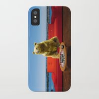 bleach iPhone & iPod Cases featuring Bleach Blonde Bear by Bemular