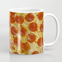 pizza Mugs featuring Pizza by Katieb1013