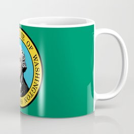 flag Washington,america,usa,Alki,Evergreen State, Washingtonian,Olympia,seattle,Spokane Coffee Mug