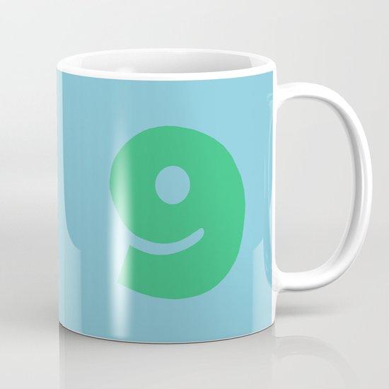 Number 9 Mug