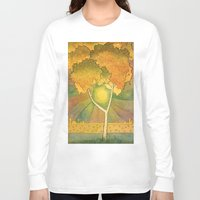 birch Long Sleeve T-shirts featuring Birch 2 by Eugene Frost