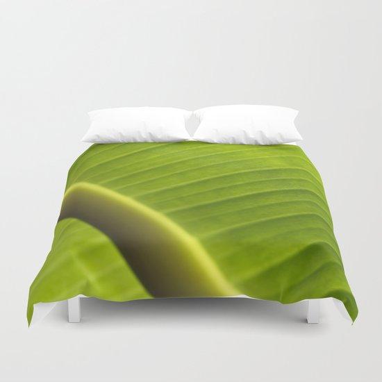 Banana Leaf III Duvet Cover
