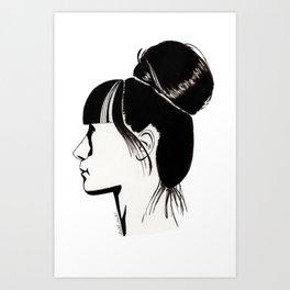 Françoise Art Print