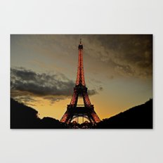 Tower Sunset Canvas Print