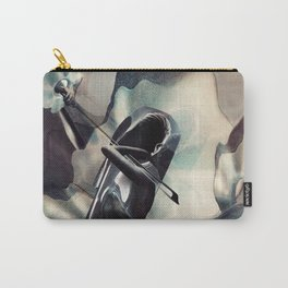A WAVES WITH CELLO Carry-All Pouch