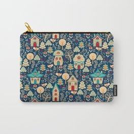 Fabulous Houses in a Magical Forest. Carry-All Pouch