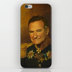 Robin Williams - replaceface iPhone Skin