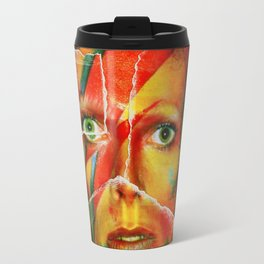 Broken Bowie Travel Mug