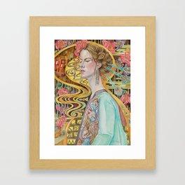 Flower in a Bitter World III Framed Art Print