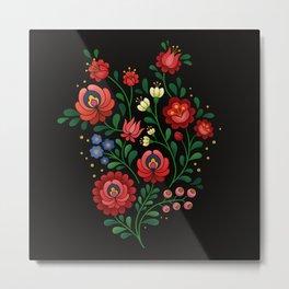 Hungarian flowers 2 Metal Print