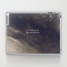 Till the End of the Line Laptop & iPad Skin