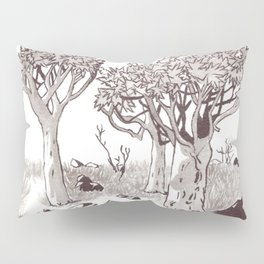 Quiver Tree Forest - Namibia Pillow Sham