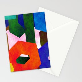 Retro Artistic Pattern Stationery Cards