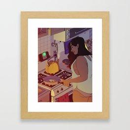 Fried Egg Framed Art Print