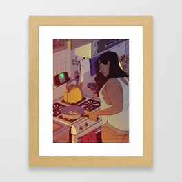 Fried Egg Framed Art Print
