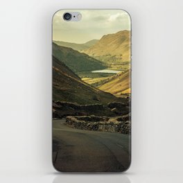 Scotland at the sunset iPhone Skin