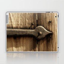 Rustic Door Hinge Laptop & iPad Skin