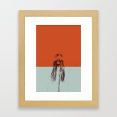 Woman Color 2 Framed Art Print