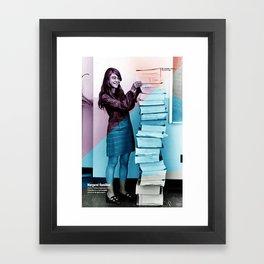 Women of NASA: Margaret Hamilton Framed Art Print