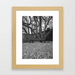 Fuchs und Gans Kommen nach Hause Framed Art Print