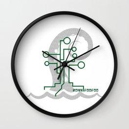 Data Kraken Wall Clock