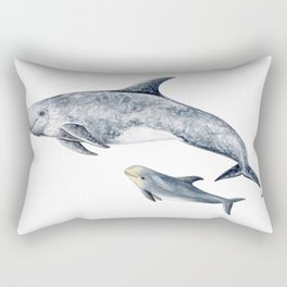 Risso´s Dolphin Rectangular Pillow