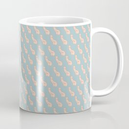 Practically Perfect - Penis in Blue Coffee Mug