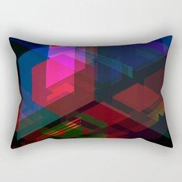 Abstract effect of hologram Rectangular Pillow