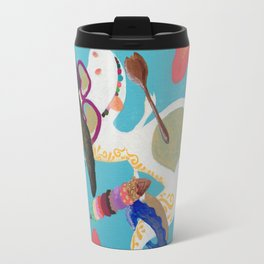 Happy Dino Summer Travel Mug