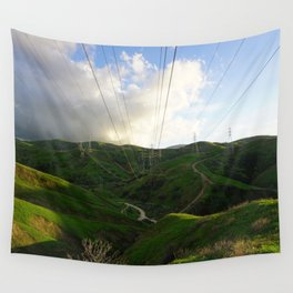 Green Hills Wall Tapestry