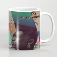 grace Mugs featuring Grace by Galvanise The Dog
