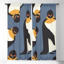 Emperor Penguin, Animal Portrait Blackout Curtain