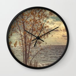 When You Start To Fall Wall Clock