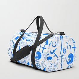 Buffy Symbology, Blue Duffle Bag