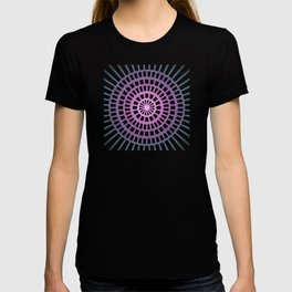 Candy illusion mandala T-shirt