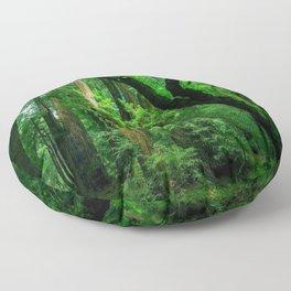 Enchanted forest mood II Floor Pillow