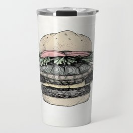 Turtle Sandwich | Desaturated Travel Mug