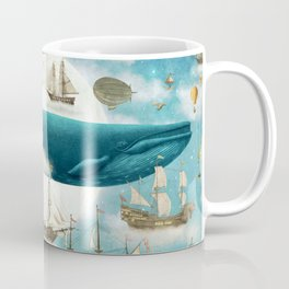 Ocean Meets Sky - book cover Coffee Mug