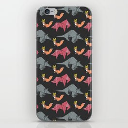 origami-Animal pattern iPhone Skin